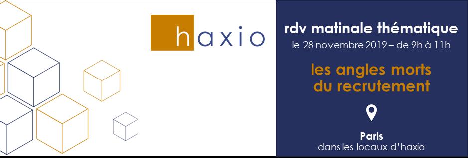 première matinale thématique d'haxio à paris